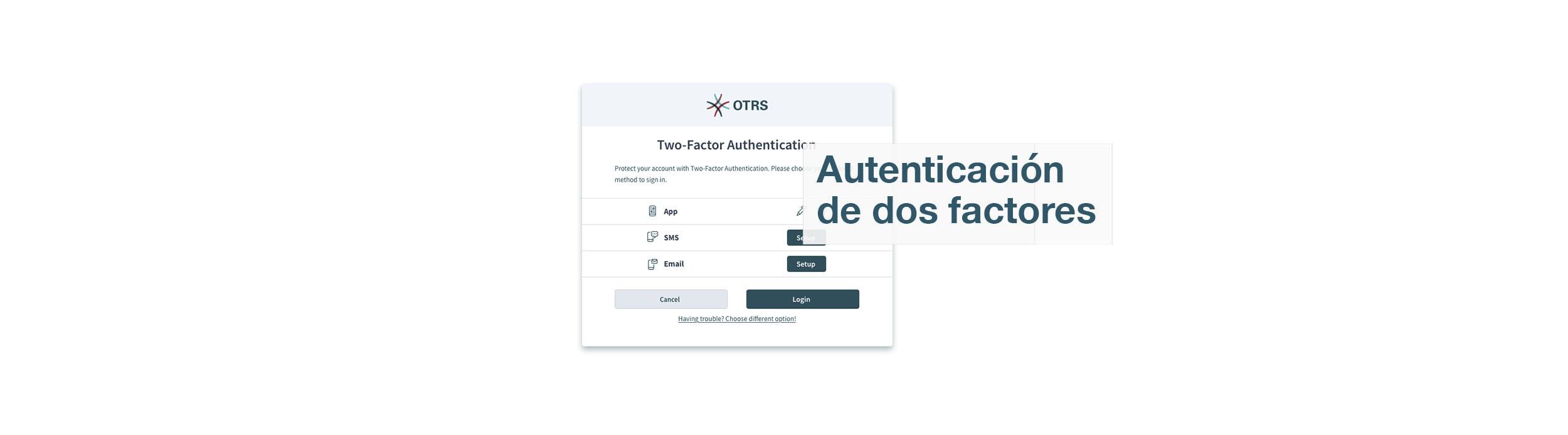 OTRS 8-Screenshot-2FA