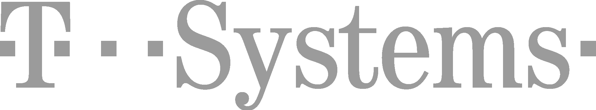 T-Systems Logo in Grey