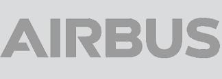 Airbus Logo in Grey
