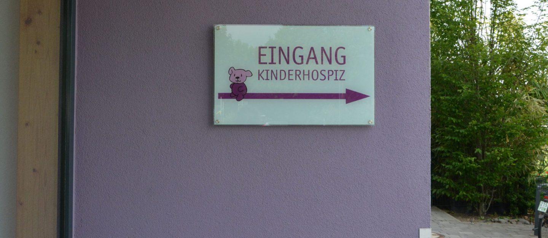 Children hospice Wiesbaden entry