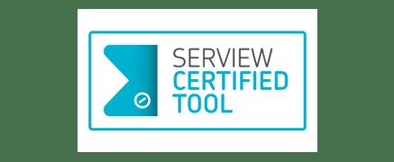 Logo serview certificate