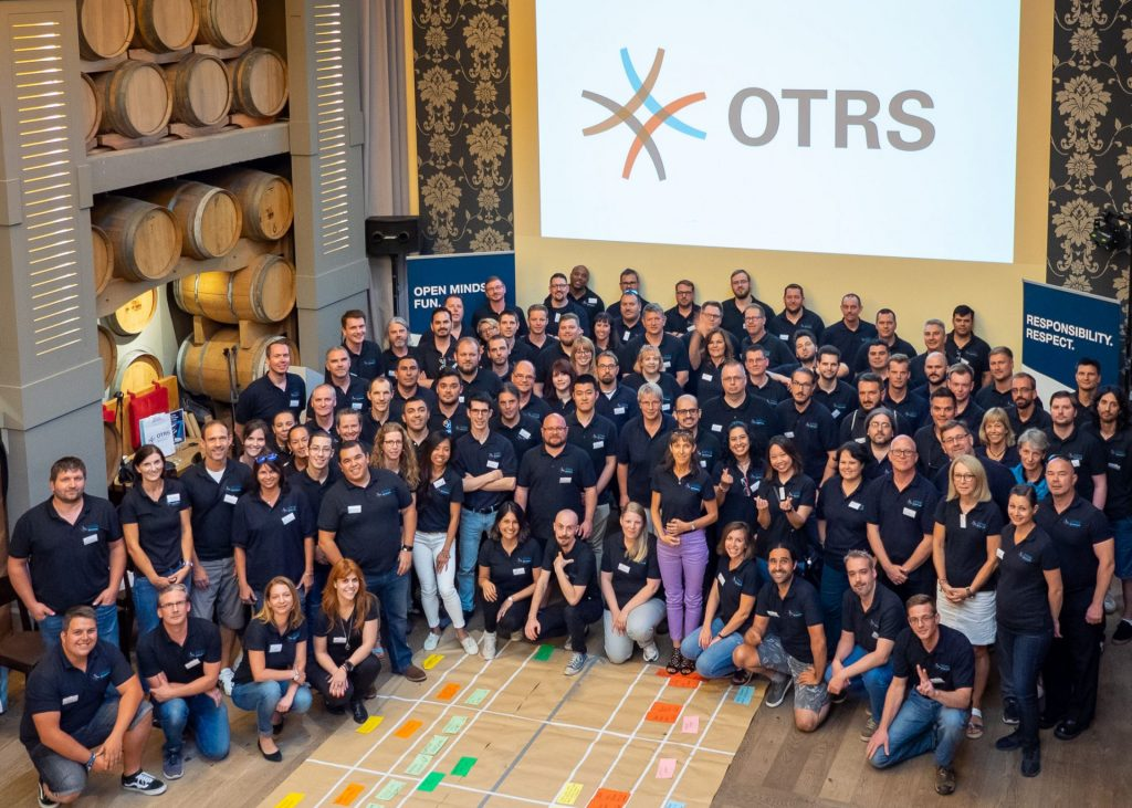 group of OTRS employees