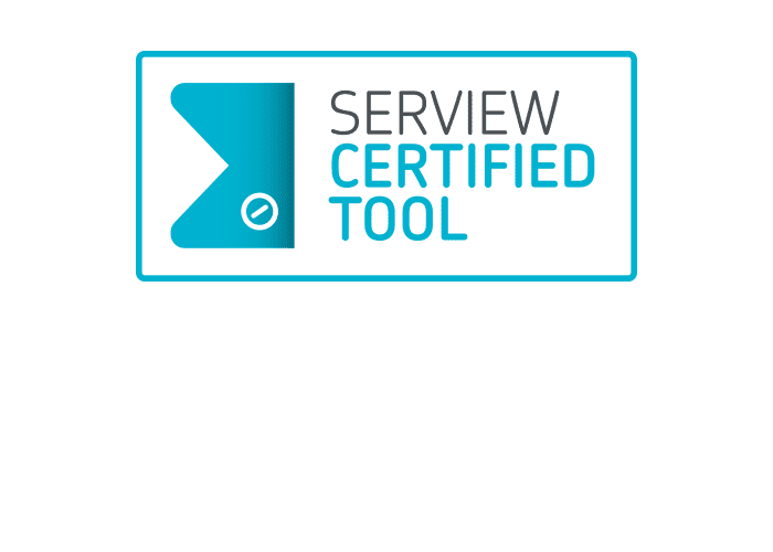 serview certified tool logo