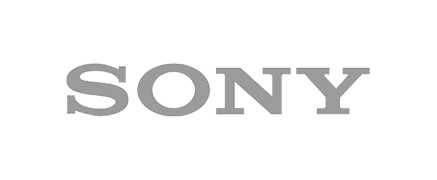 Sony Logo logo in grey color