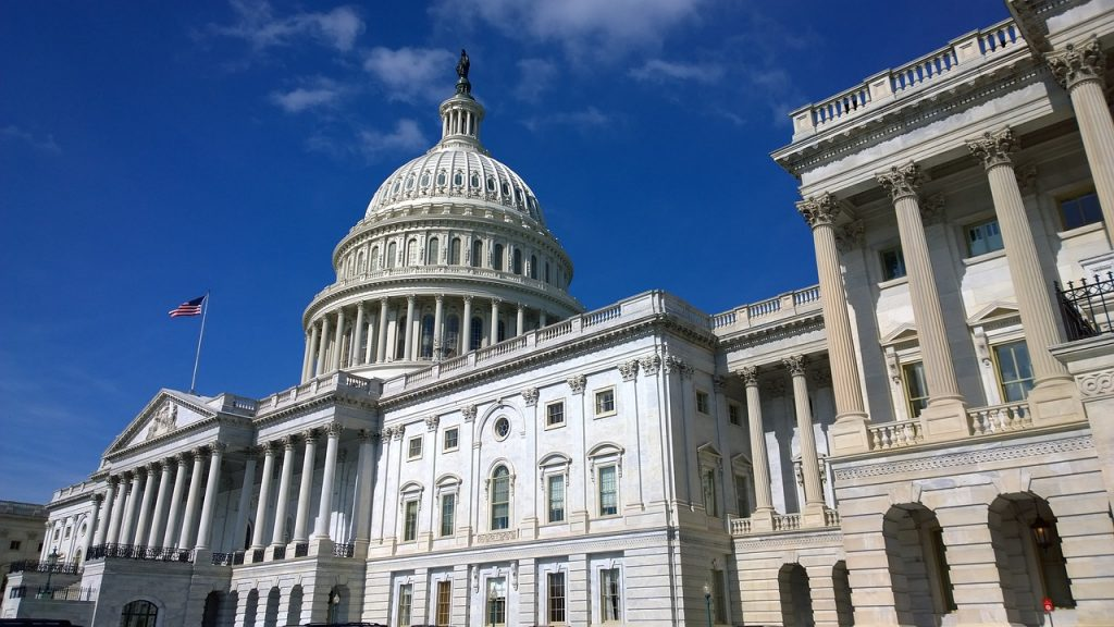 U.S. Capitol building represents law making in the United States