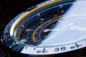 Watch representing fast response to data breaches